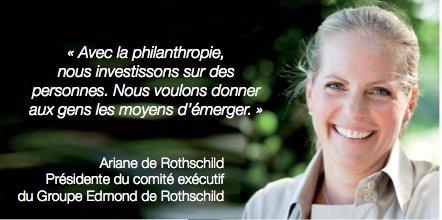 [PAROLE DE MÉCÈNE] Témoignage d'Ariane de Rothschild des @edrfoundations au #MécènesForum @ADMICAL https://t.co/XWuIHQZKO6
