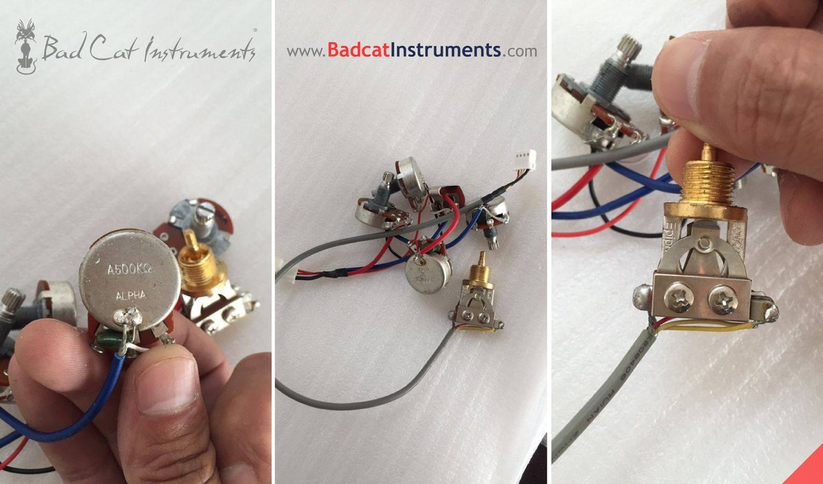 Badcatinstruments On Twitter At Badcat Instruments We Use Quality Electric Guitar Wiring Harness Alpha Pro Mini 3 Way