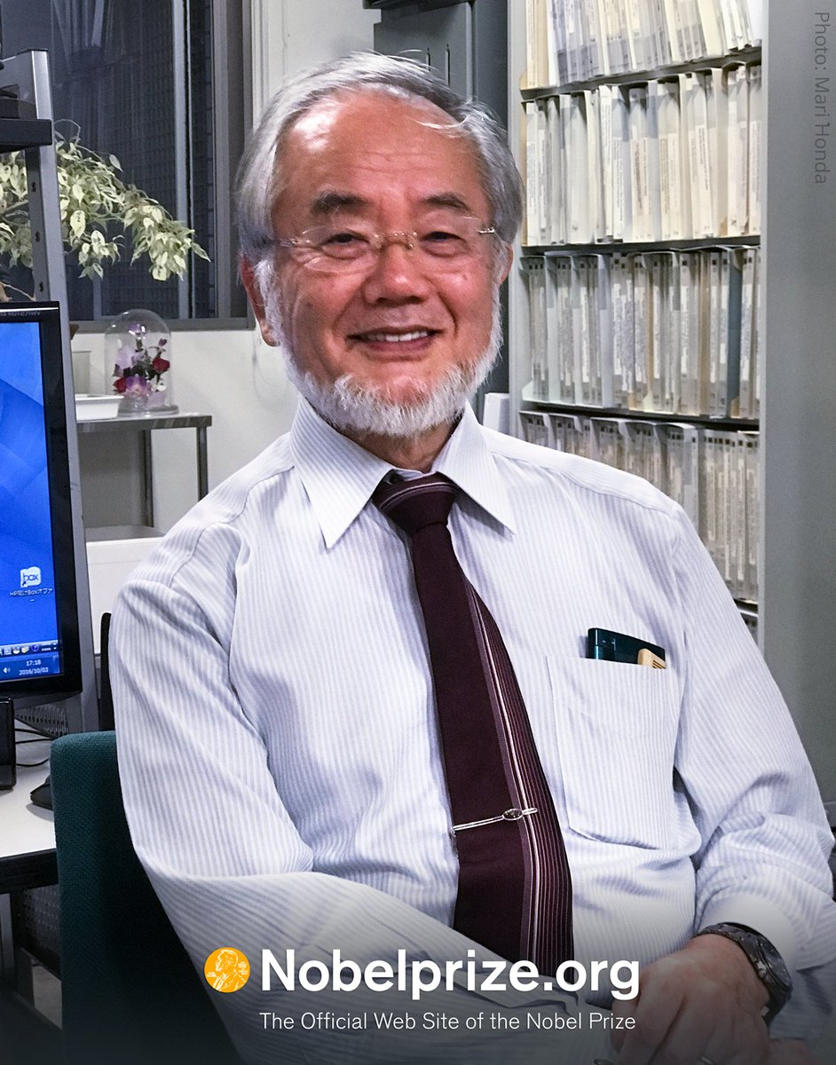 2016 Medicine Laureate Yoshinori Ohsumi says that he will come to Stockholm in December to receive the #NobelPrize