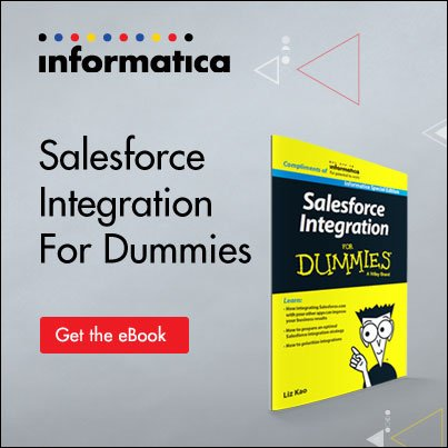 "Heading to #DF16? Why not read ""Salesforce Integration for Dummies"" on the plane? https://t.co/FHkWYFVWN0 #DF16 https://t.co/0dw1WRiSon"