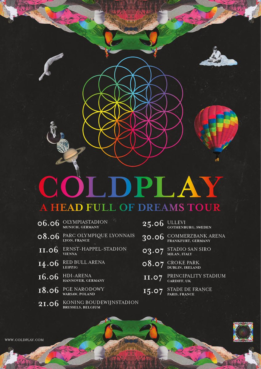 Tickets for the new #AHFODtour European dates are on general sale on Friday. Get ticket links & pre-sale info at… https://t.co/dnta4Tq3ZE