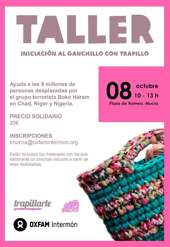 ¿te apetece aprender a hacer ganchillo?. Toda la info en:  #talleresganchillo #ganchillo #crochet #trapillarte