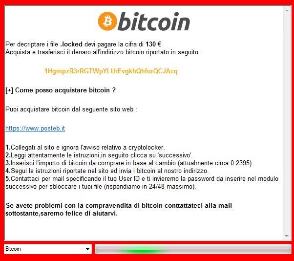 problemi con bitcoin