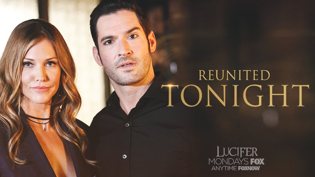 #Lucifer is on his way. Tune in to @FOXTV tonight at 9/8c for a bit of devilish fun.