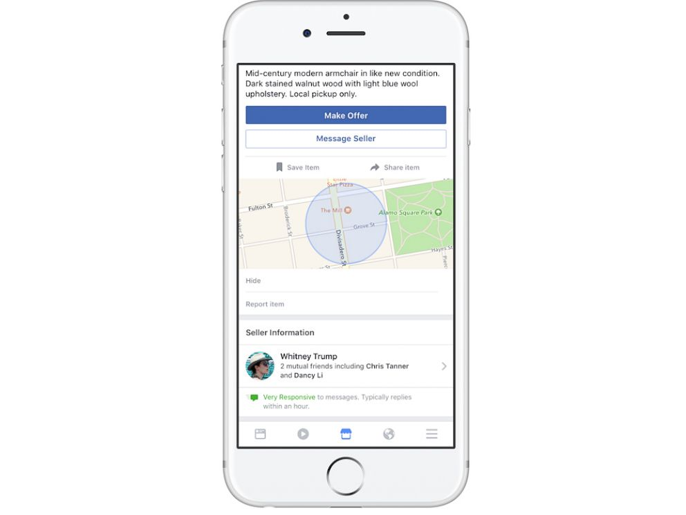 how to add marketplace to facebook app