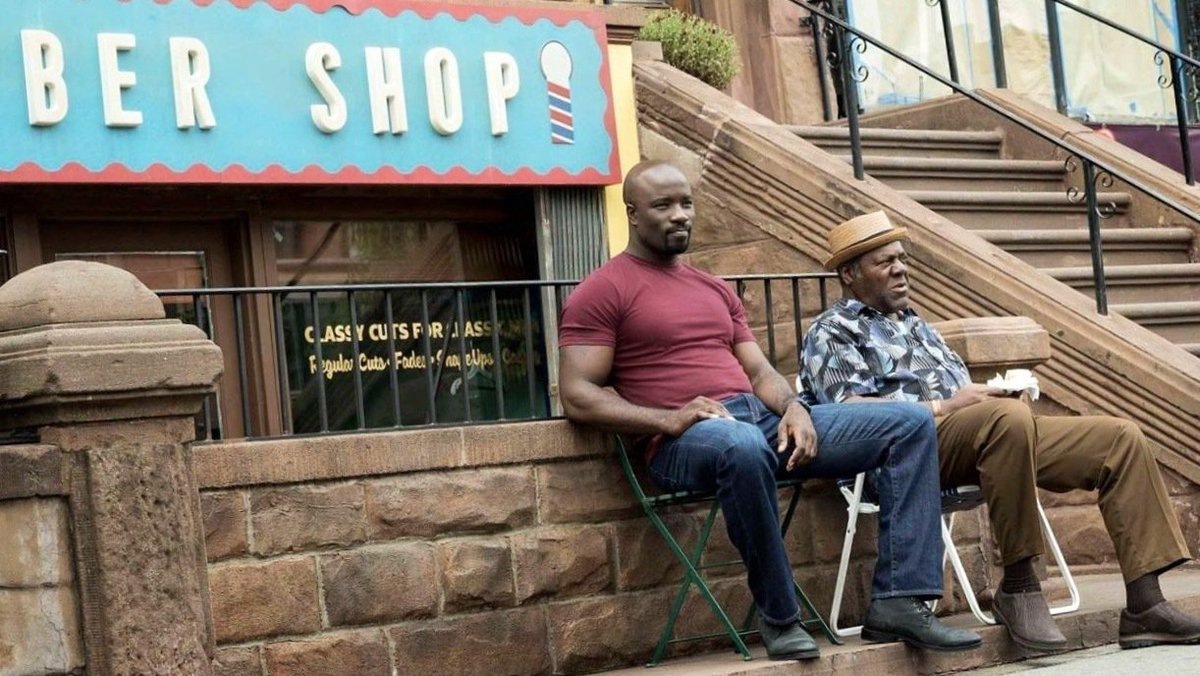 """Always forward, never backward."" -Pops 👊🏾 #LukeCage #MondayMotivation..."