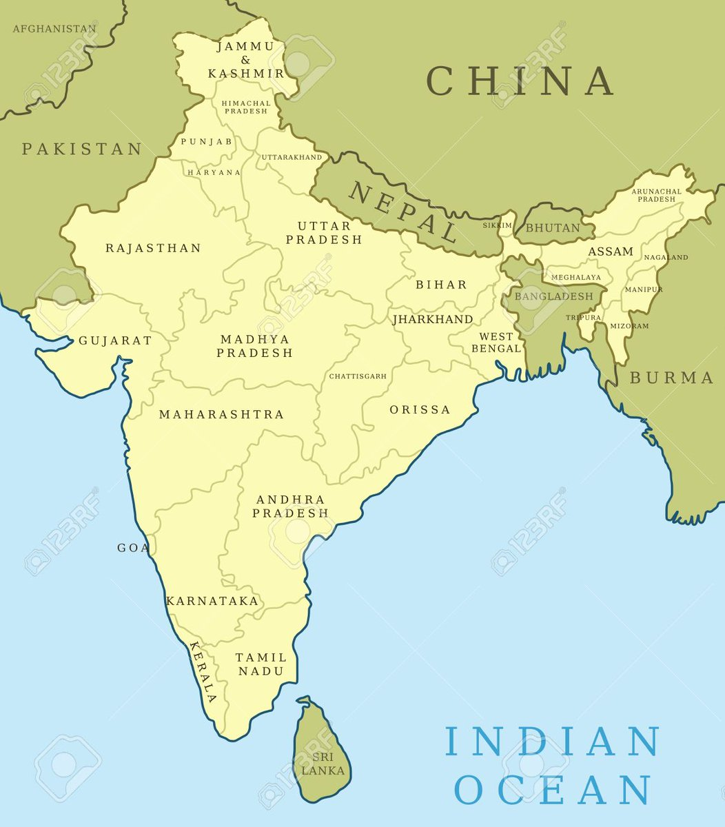 Actual Map Of India.Devendra Ahirwar On Twitter 3 But Yesterday I Came To Know Its