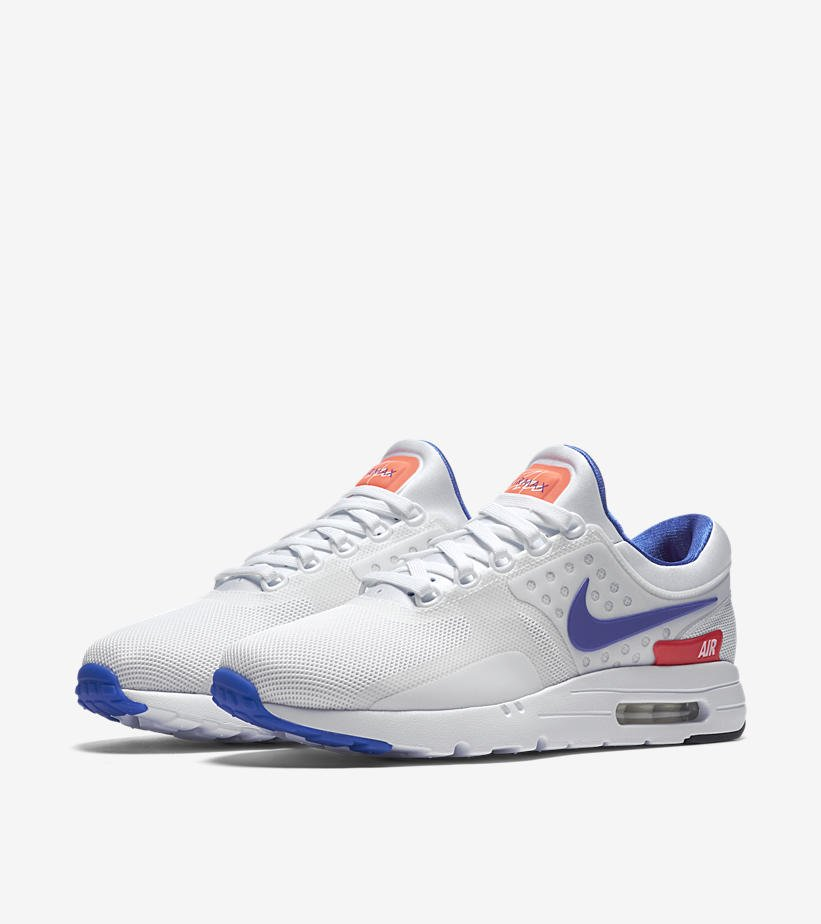 men s nike air max zero qs ultramarine pigment india
