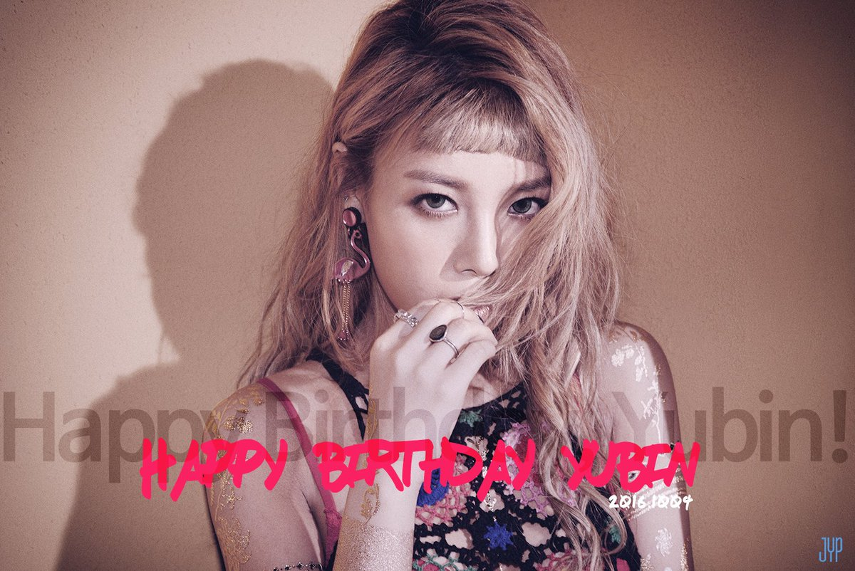 HAPPY BIRTHDAY YUBIN #1004YubinDay https://t.co/BonaACWZs9