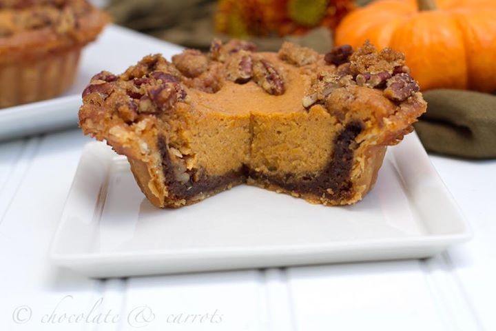 We're sharing Chocolate & Carrots Miniature Gingersnap Pumpkin Pies on Blissfully Domestic… https://t.co/l3b1m75FXv https://t.co/XeuNnBvu1R