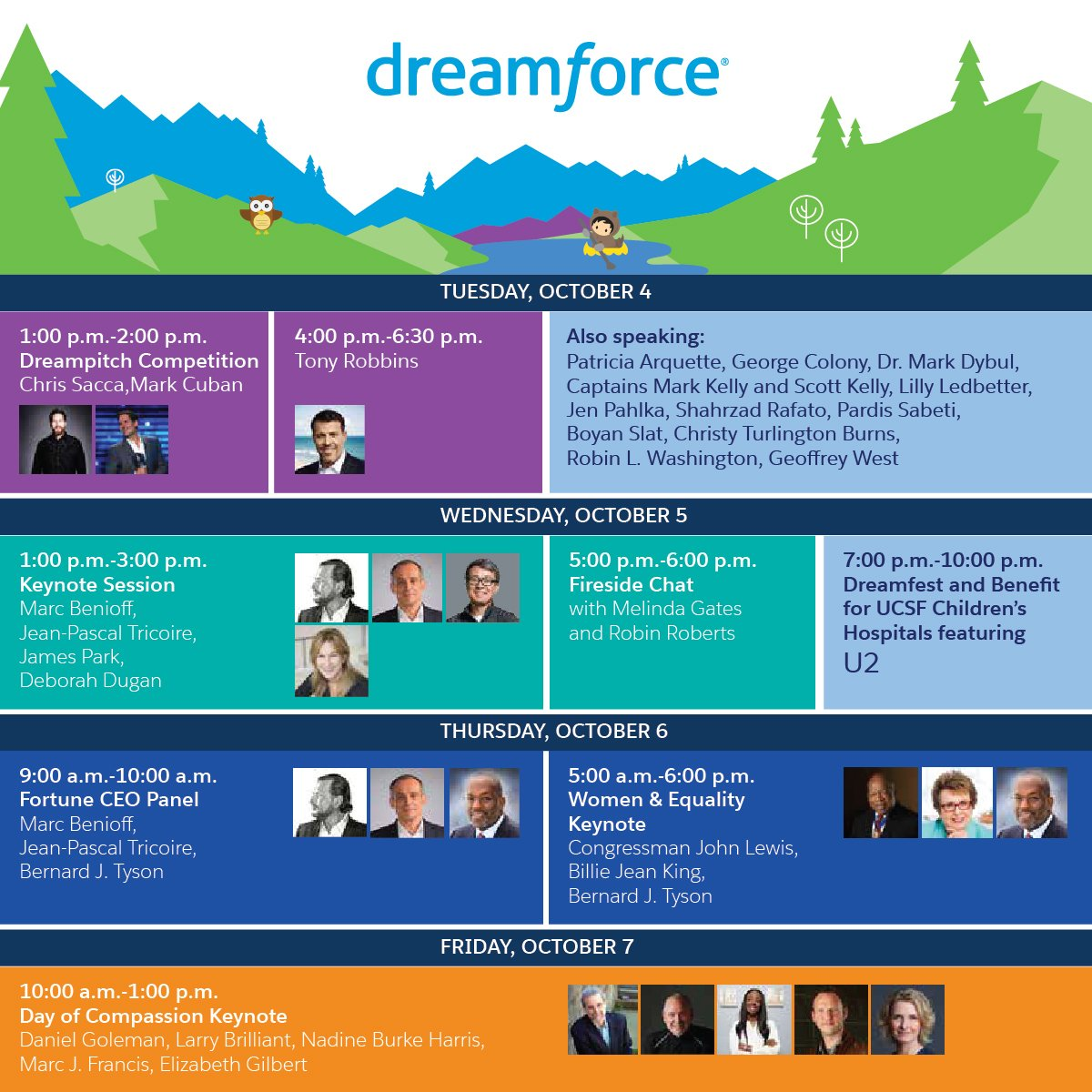 Watch the biggest moments of #DF16 on SalesforceLIVE!