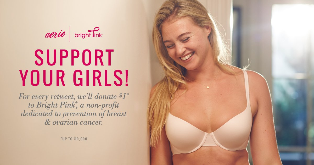 For every retweet, we'll donate $1* to @BeBrightPink!