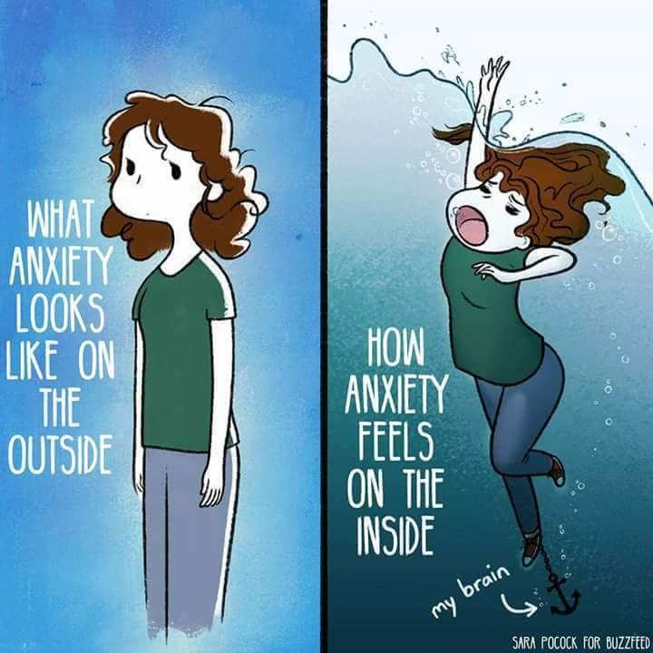 Bildresultat för what anxiety looks like