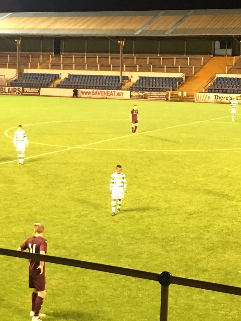 This is amazing. 13 year old Karamoko Dembele is playing for Celtic U20 development squad tonight. https://t.co/kMwaEAeB4f