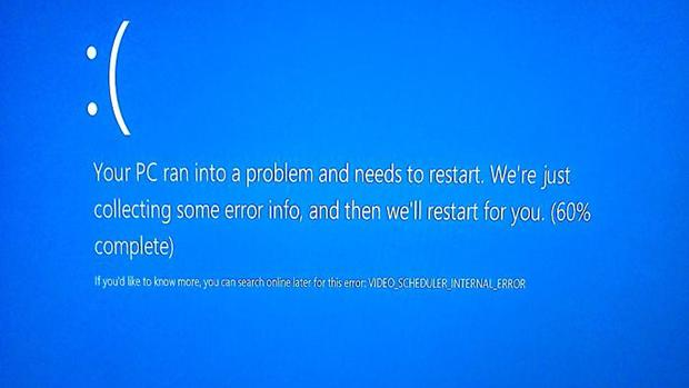 how to create a real bsod