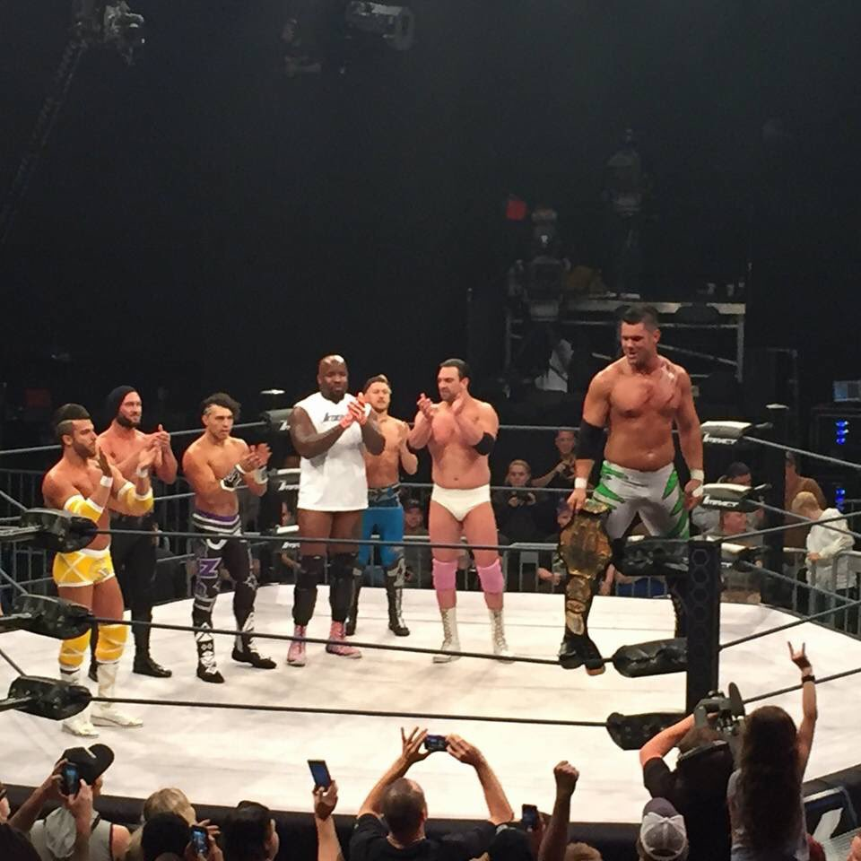 Eddie Edwards is the new TNA World Heavyweight Champion