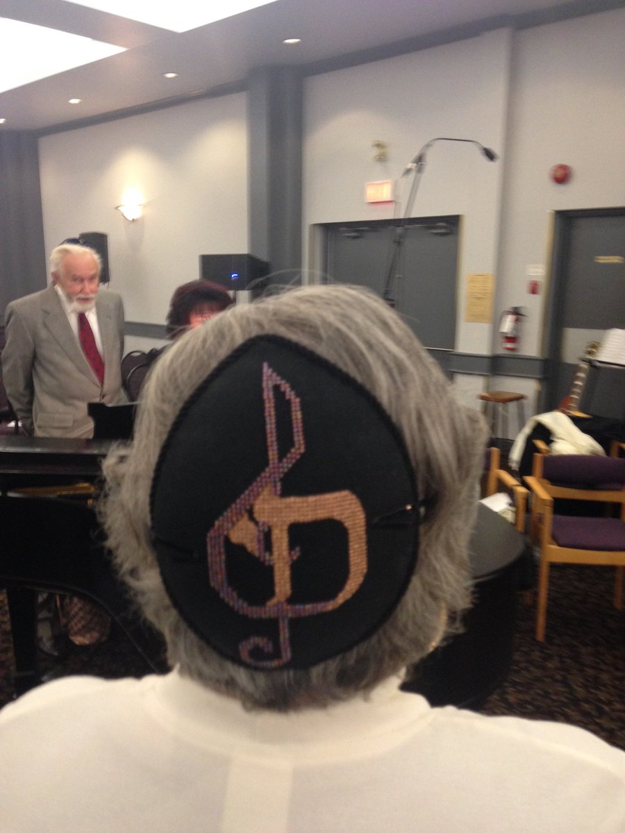Temple israel ottawa on twitter temple israel ottawa choir temple israel ottawa on twitter temple israel ottawa choir director designed the perfect kippah for her job notice anything beside the music symbol biocorpaavc