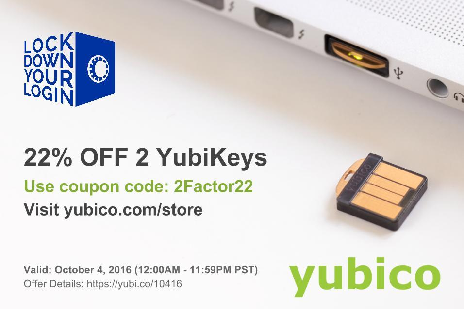Yubico coupon
