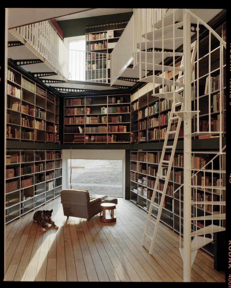 """Freshome On Twitter: """"Home Library #goals. Https://t.co"""