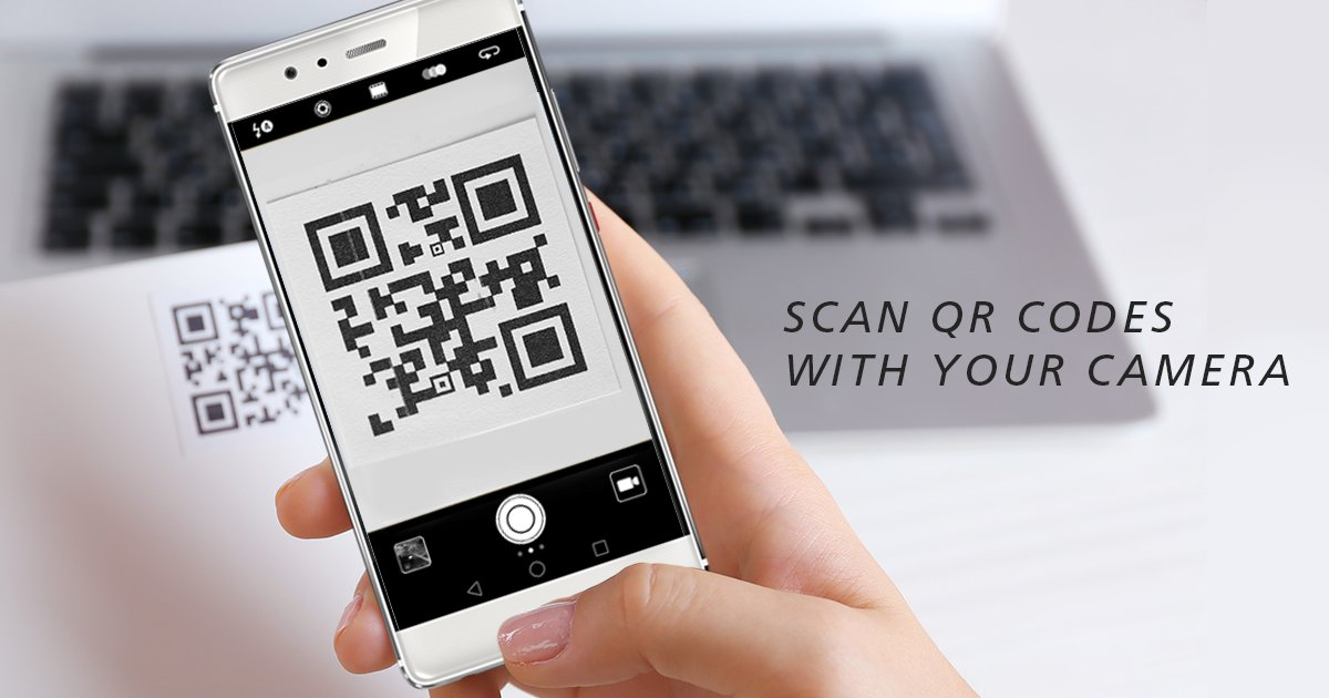 how to scan qr code with iphone x camera