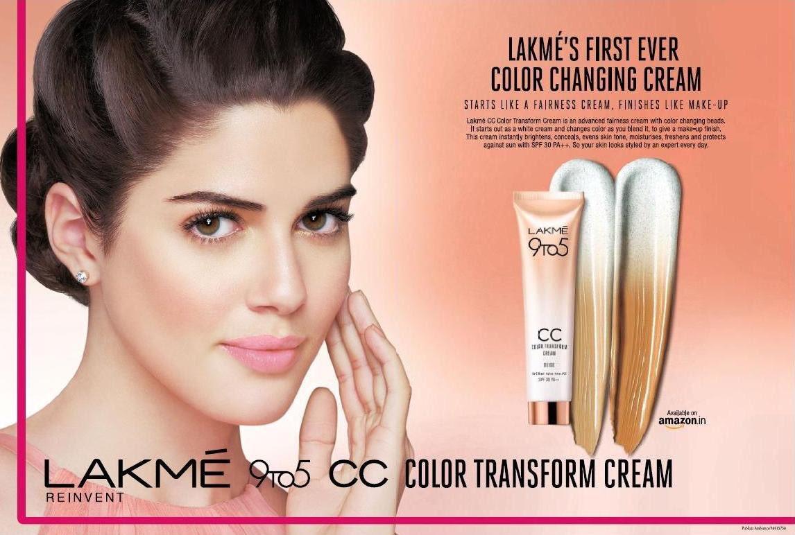 """Izabelle Leite on Twitter: """"New Lakme CC cream 9to5 #lakme… """""""