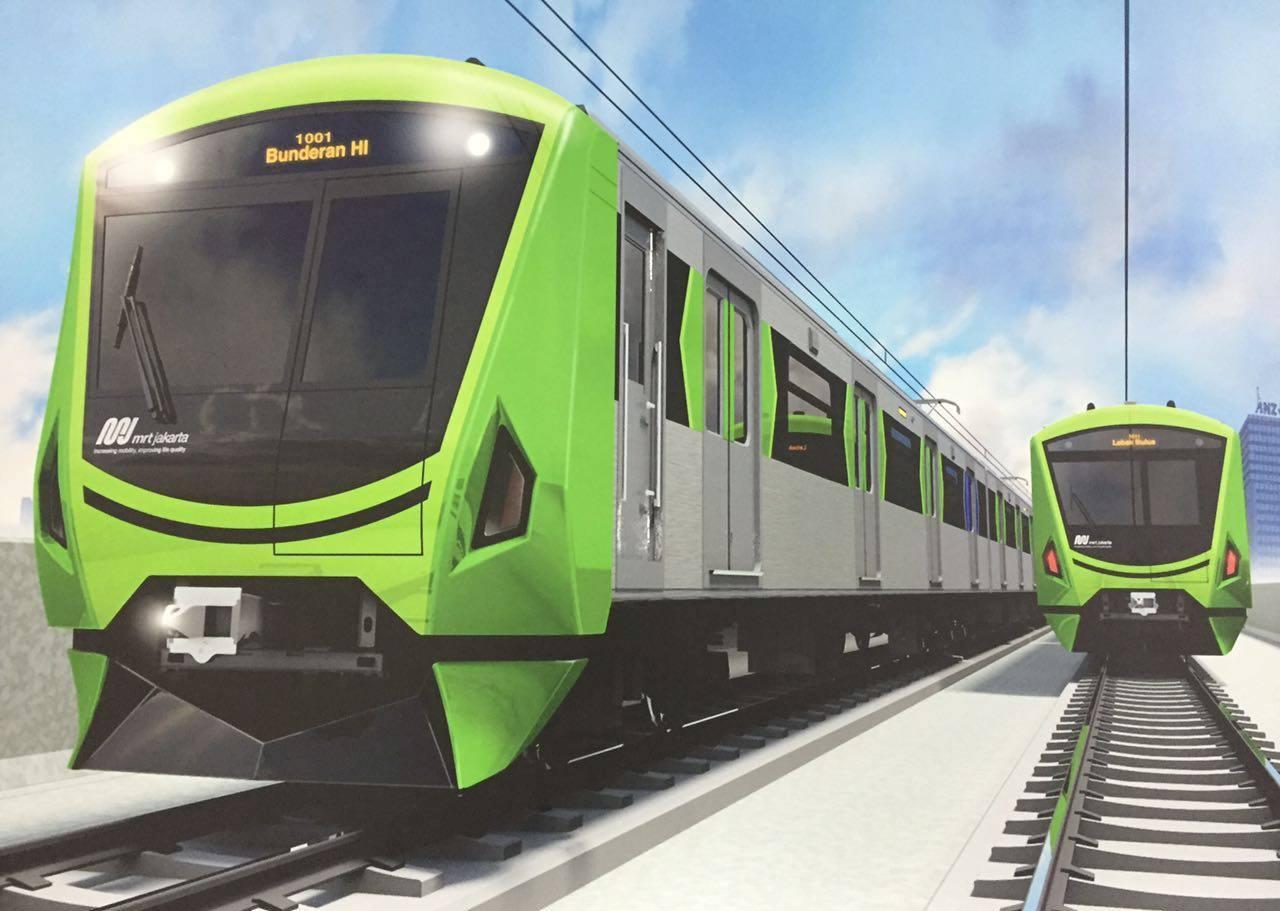 """Jakarta Smart City on Twitter: """"Desain Kereta MRT Jakarta"""