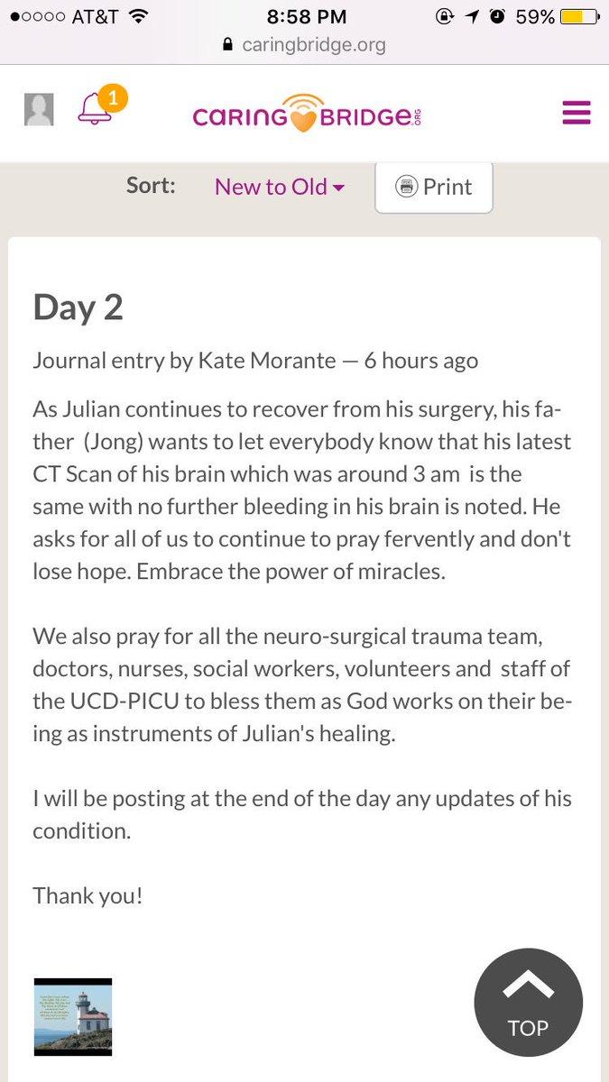 oakmont high school on twitter day 2 update on julian ortiz s oakmont high school on twitter day 2 update on julian ortiz s condition keep praying everyone 🙏🏽💙 t co 3kd8zzqpoj