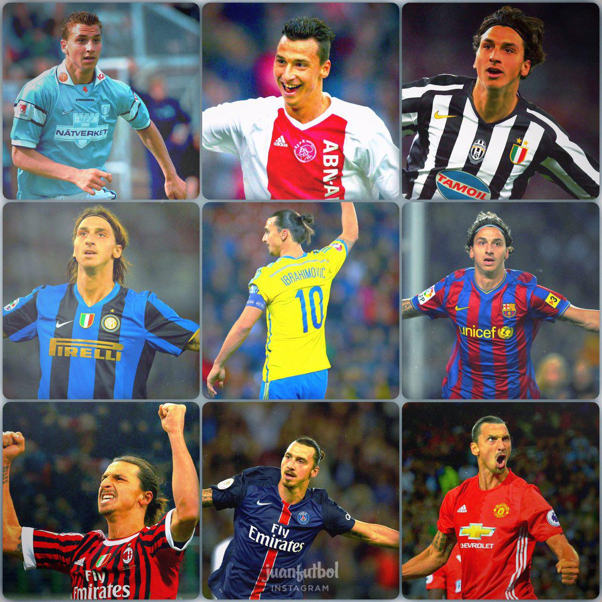 Idol in the pitch & out of it.  You are a life example for me.  Happy Birthday Leyend.  #Zlatan35 #DareToZlatanpic.twitter.com/UfMvhKakem