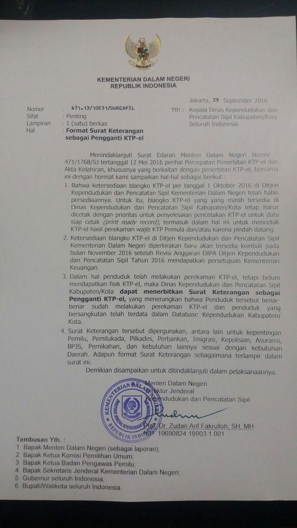Disdukcapil Kota Bandung On Twitter Surat Edaran