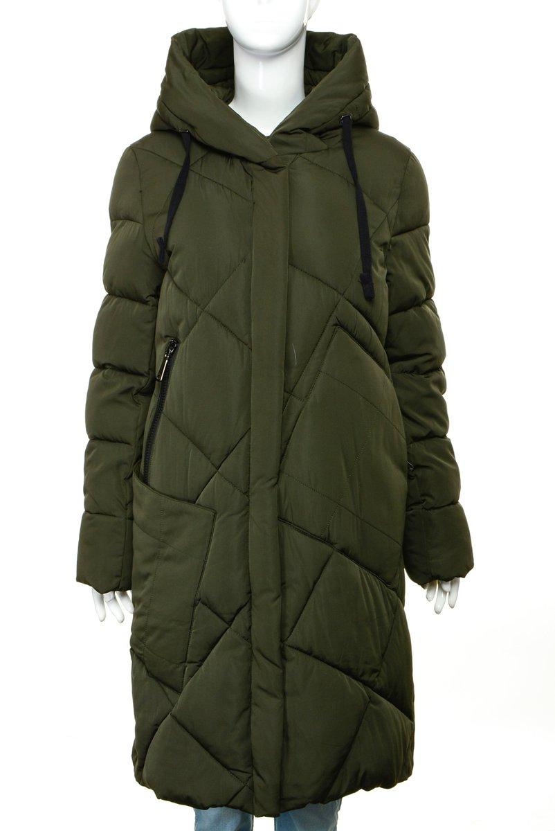 куртки женские зимние больших размеров на синтепоне с капюшоном и мехом