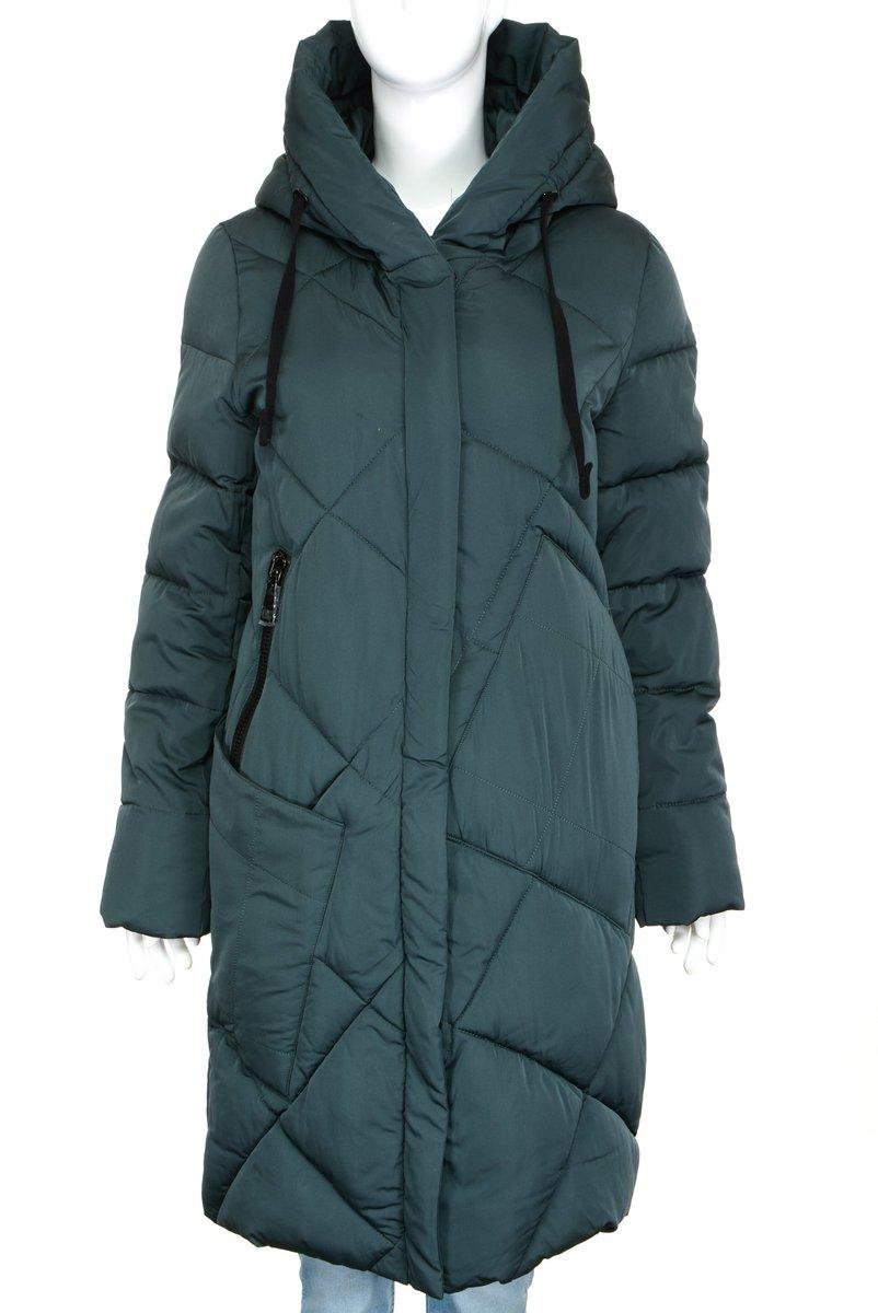куртки женские зимние удлиненные на синтепоне с капюшоном и мехом