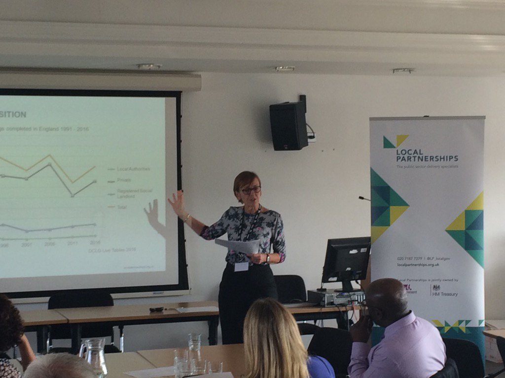 Jenny Coombs from @LP_localgov talking about the gap between homes built & numbers of homes needed