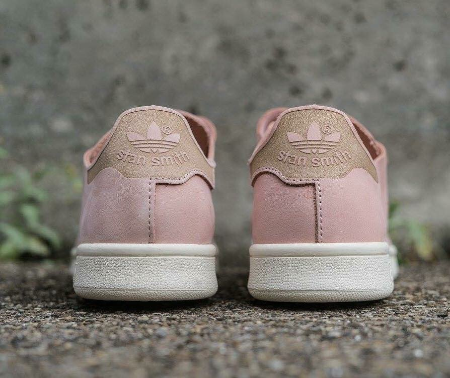 "Adidas stan smith velcro strap ""vapour pink"" for women  http   bit.ly 2cueeVg pic.twitter.com dPvvAXdC9U f01acbe48"