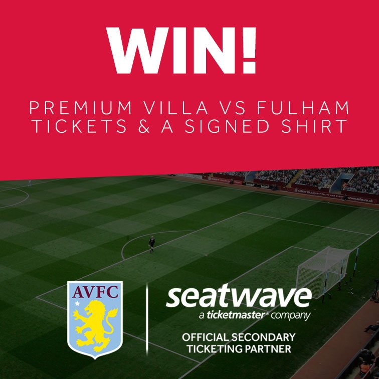 Aston Villa Fc On Twitter Be In With A Chance Of Winning
