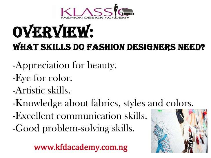 Klassic Fashions On Twitter What Skills Do Fashion Designers Need Morningrush Fashiondesigntraining Nosidonlook