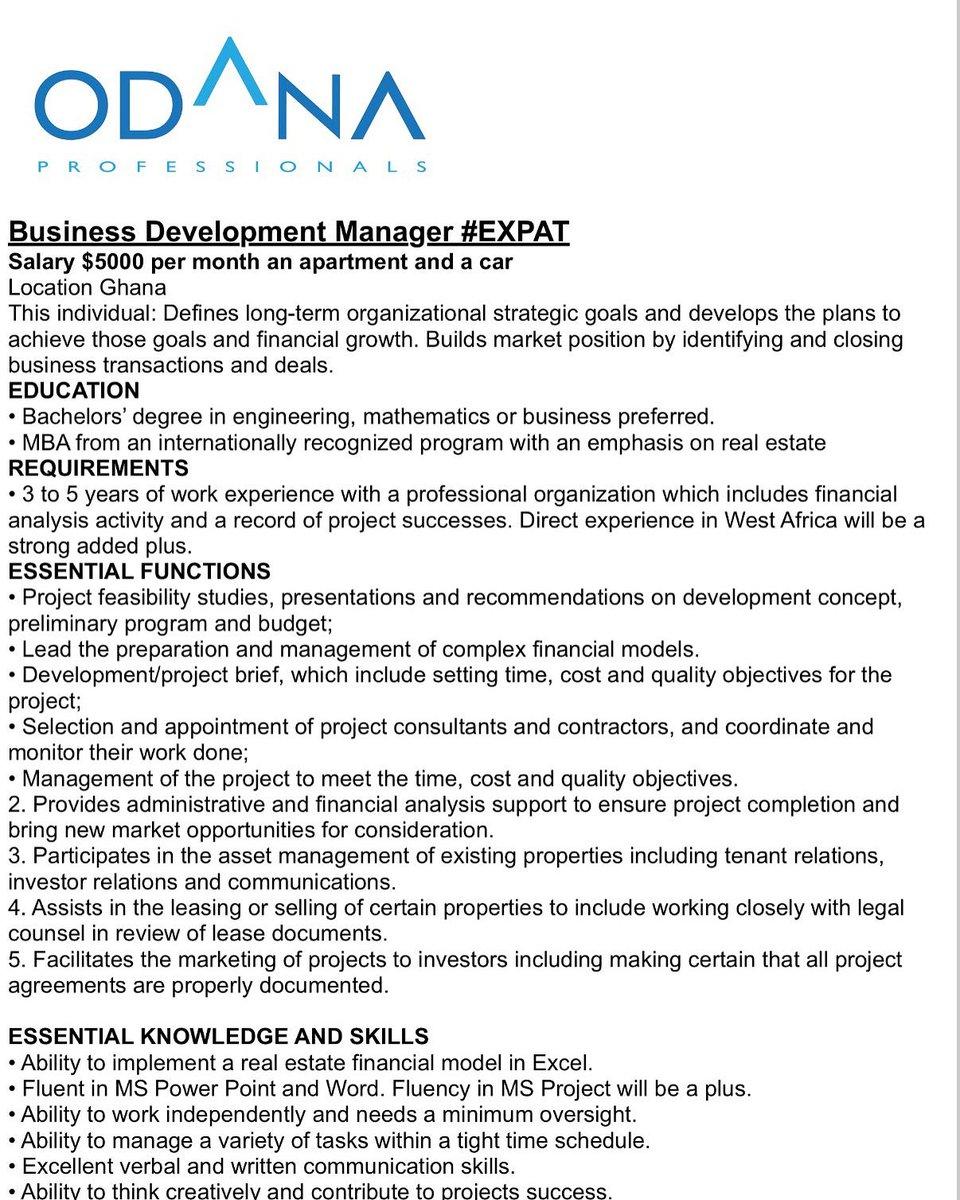 Business Development Manager Salary >> Guba Careers On Twitter Business Development Manager Salary 5000