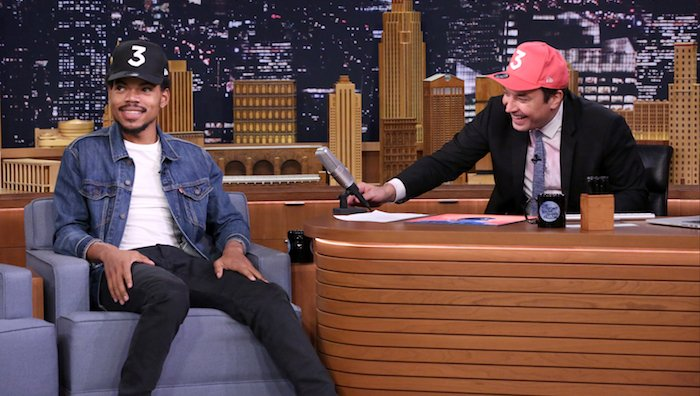 7ecac5789ce4 see chancetherapper chat do blessings reprise with dram tydollasign raury  amp a gospel choir on fallon