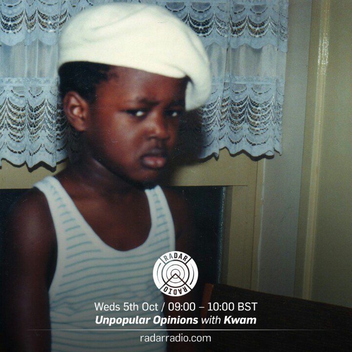 More good news - pleased to announce I'm starting a weekly AM show on @RadarRadioLDN! 1st one tomorrow