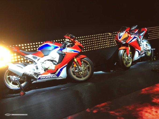 #Honda #CBR1000RR SP1 et SP2 2017 @intermotcologne | motoservices