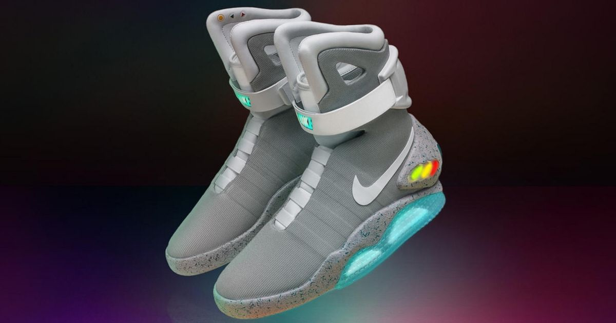 Nike's 'Back to the Future' shoes can be yours in a raffle