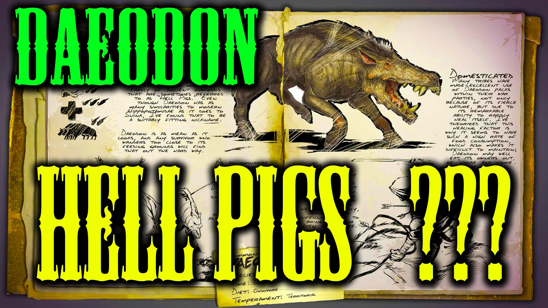 Myndmelt On Twitter New Hell Pigs In Ark Daeodon Check Out The New Ark Dossier Https T Co Aztbuyjsxo Arksurvivalevolved Gaming Pcgaming Survival Https T Co Ezfzkftr6k For an interactive map of explorer notes and other collectibles, see the following pages: daeodon check out the new ark dossier