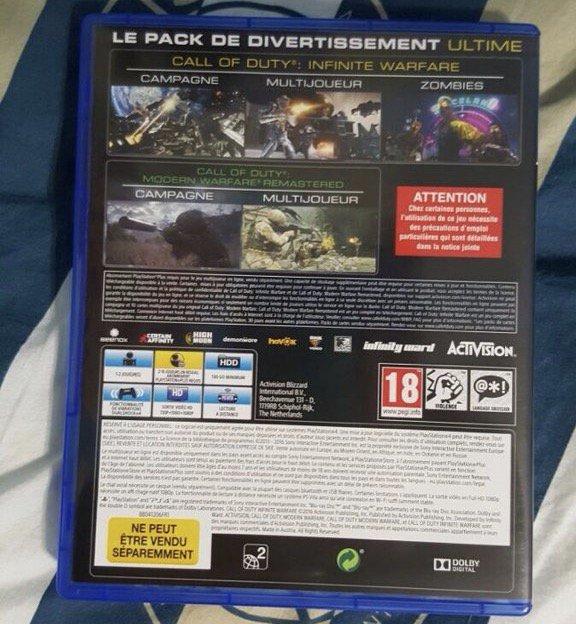 Prepare o HD: CoD Infinite Warfare e remaster ocupam nada menos que 130 GB