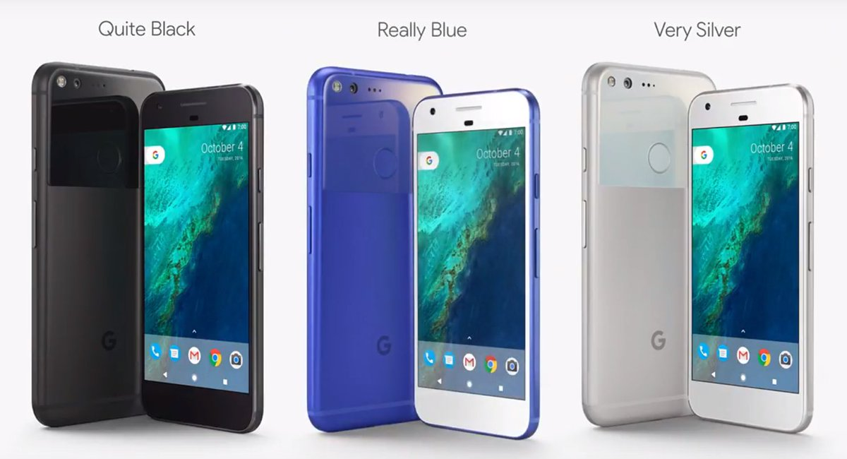 Google throwing all the shade at Apple at its new smartphone launch event #MadeByGoogle https://t.co/abZXlzkuPY