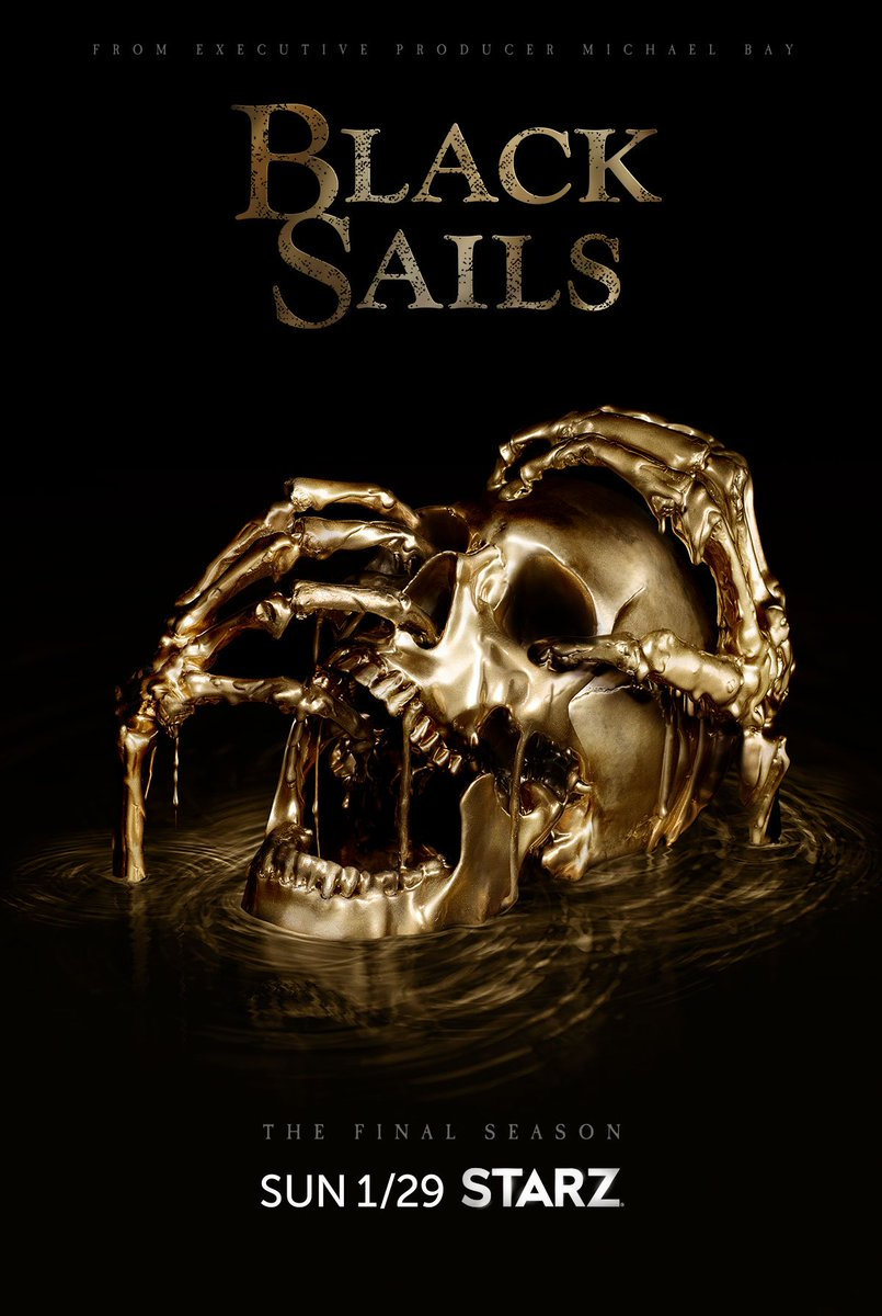 Come January 29th, only the strong will survive what comes next. #BlackSails.