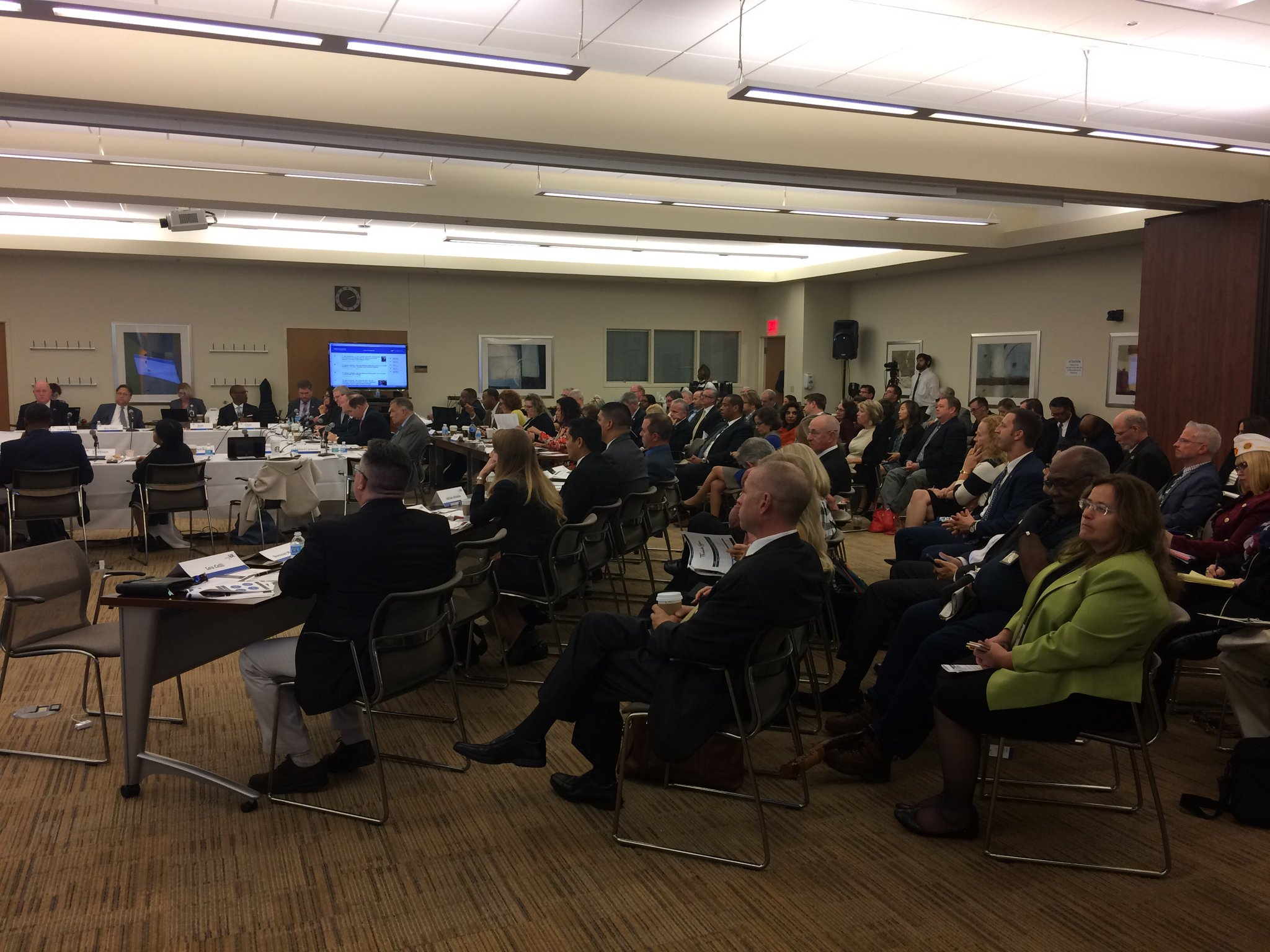 A full house for part 2 of the first day of the MyVA Advisory Committee meeting at VA Pittsburgh #MyVASitRep https://t.co/mJkJGBfEbH
