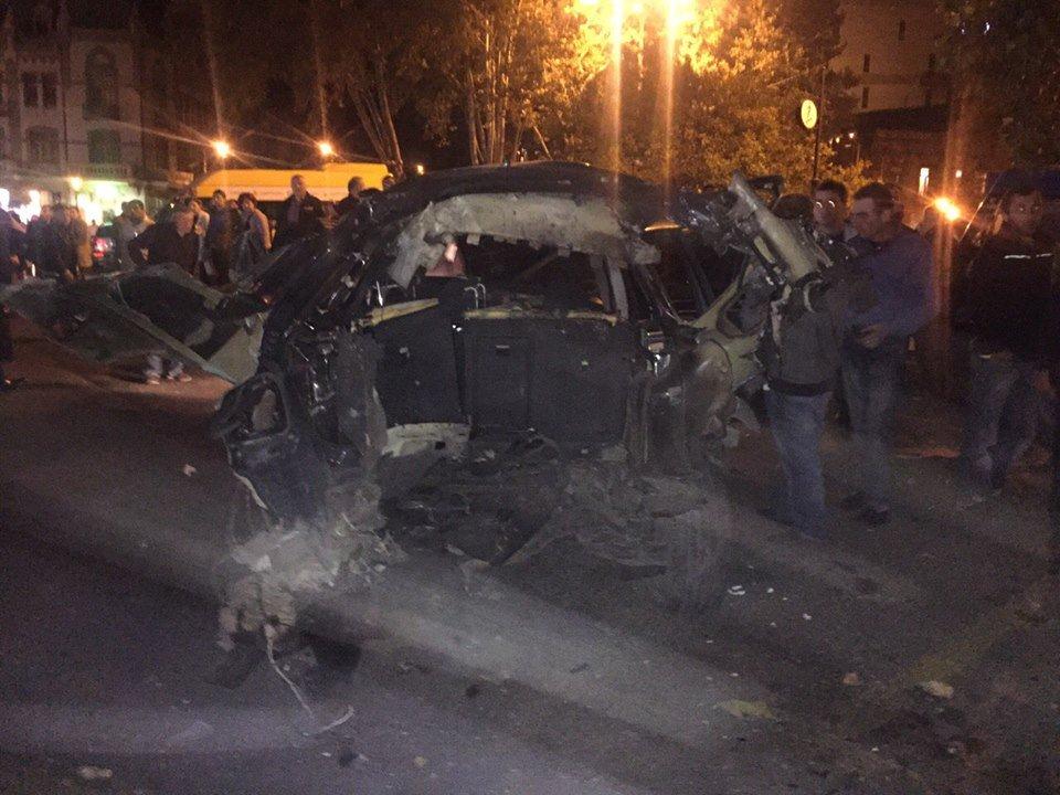 В Тбилиси взорвали автомобиль соратника Саакашвили - Цензор.НЕТ 4071