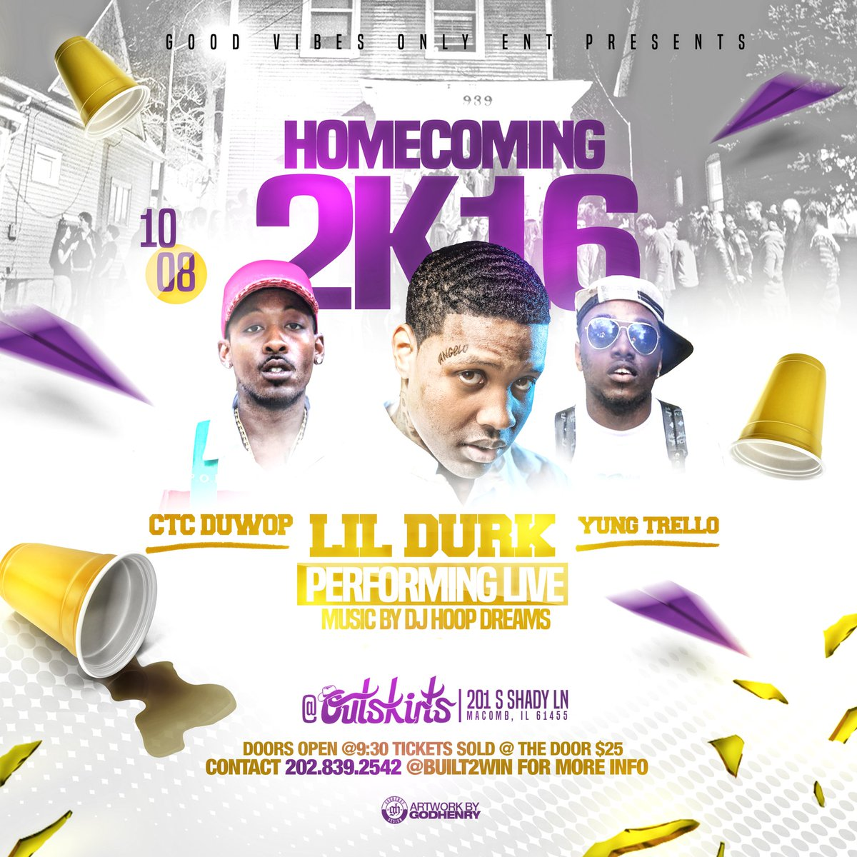 If you ain't at WIU HOMECOMING this SATURDAY you LOSING