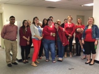 The GSO goes RED for #UWUnitedWay! Let's get this FUNdraising started! https://t.co/UBqG4zzYJM
