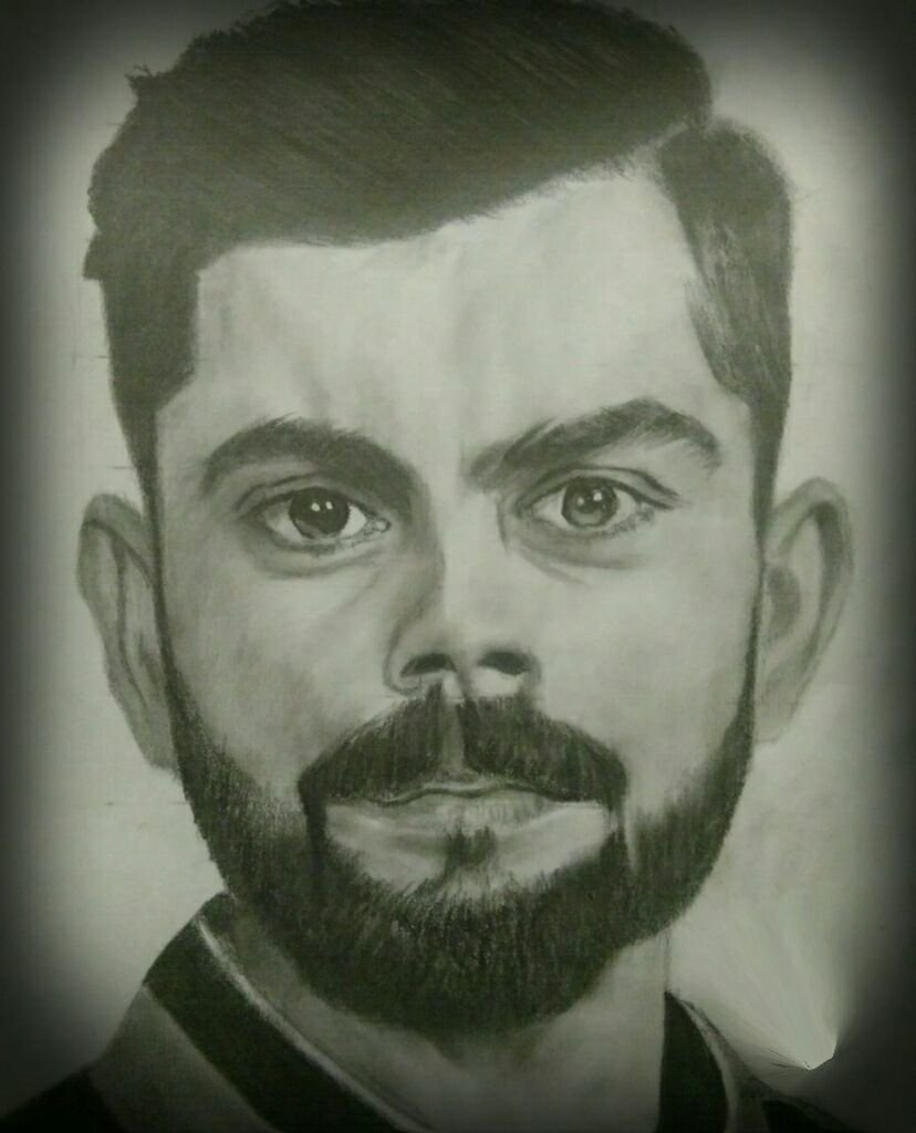 Love On Twitter Handmade Pencil Sketch Virat Kohli From