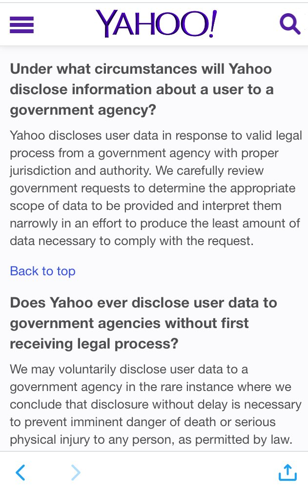 Kevin bankston on twitter funny doesnt look like yahoos kevin bankston on twitter funny doesnt look like yahoos transparency report indicated how every single email was searched for the nsa ccuart Images